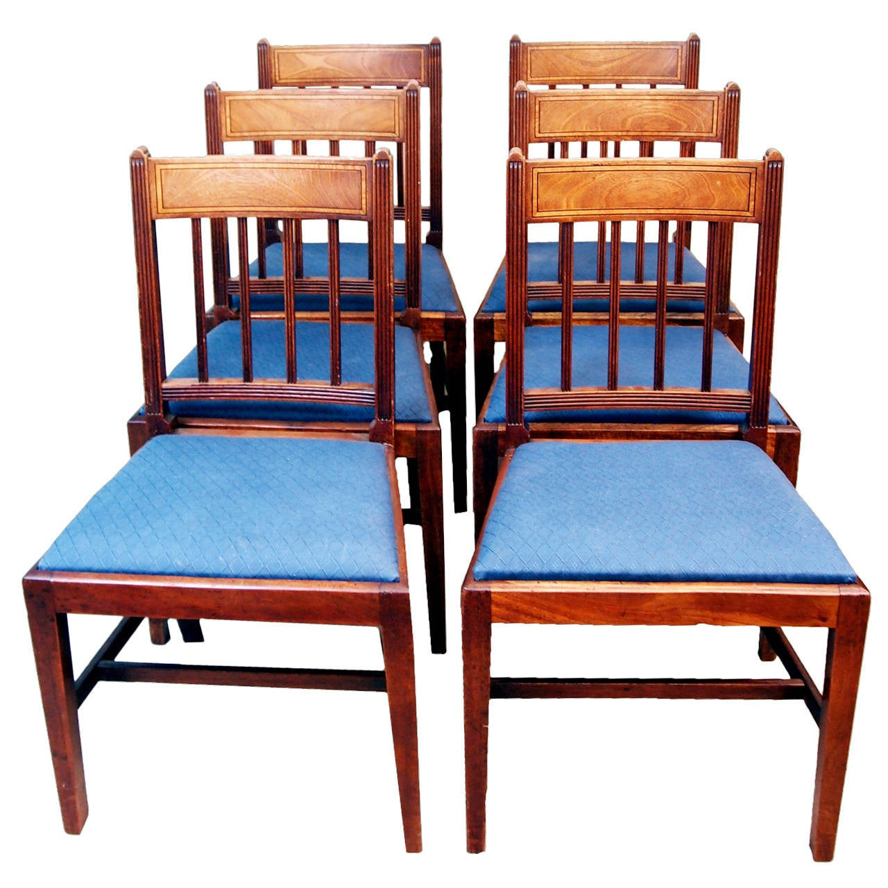 Dining Chairs Set Of 6 Antique Georgian Set Of Six Mahogany Dining Chairs For