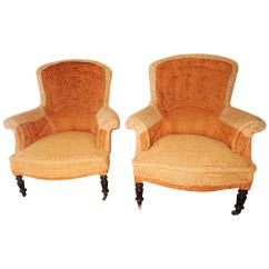 Arm Chairs For Sale Target Parsons Chair Pair Of Napoleon Iii Armchairs At 1stdibs