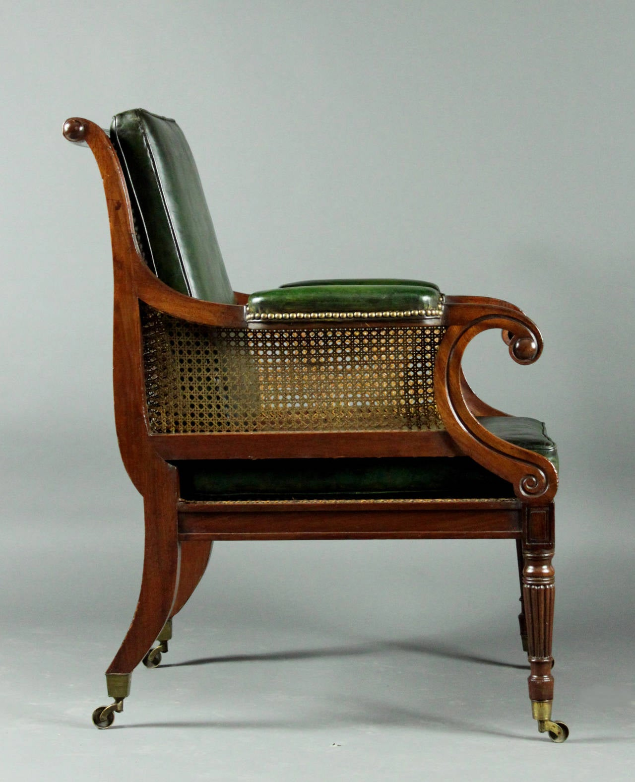 bergere chairs for sale parsons target regency chair at 1stdibs