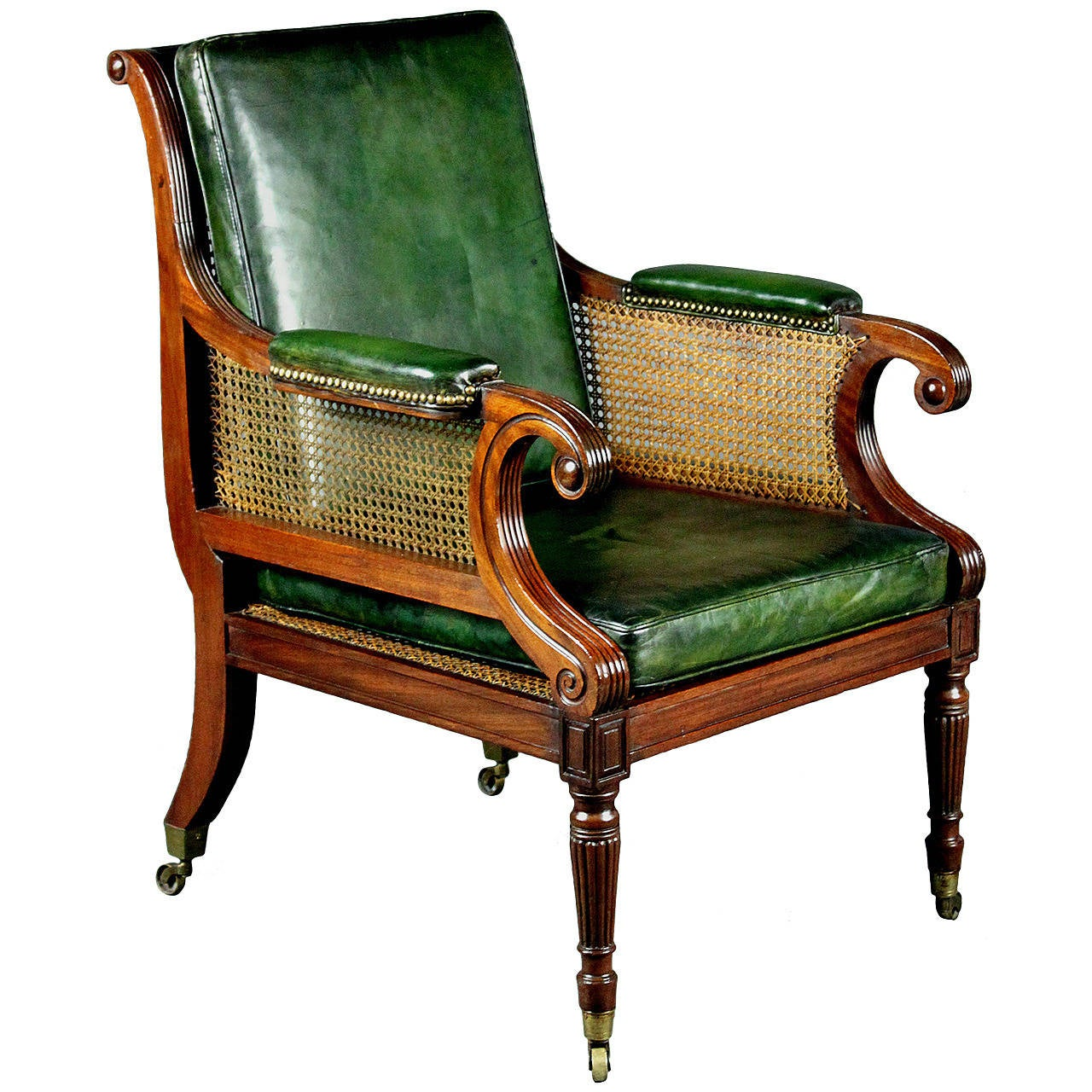 Regency Bergere Chair at 1stdibs