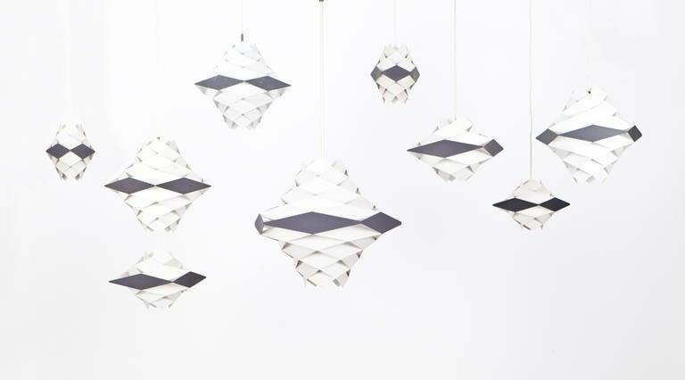 Set of Preben Dahl Ceiling Lamps For Sale at 1stdibs