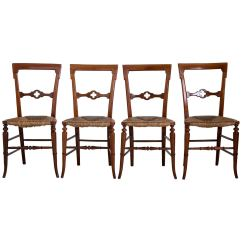 Medieval Dining Chairs How To Clean Poang Chair Cover English Gothic With Rush Seats 1800s For
