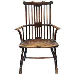 Comb Back Windsor Chair Nursery Ikea Georgian Armchair At 1stdibs