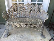 Antique Cast Iron Bench 1stdibs