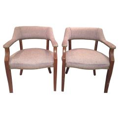 How Are Chairs Made Larry Chair Kayak Pair Of Mid Century Modern Arm In Yugoslavia