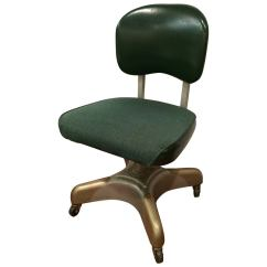 Desk Chair Industrial Rocking Adirondack Chairs Plans Office At 1stdibs