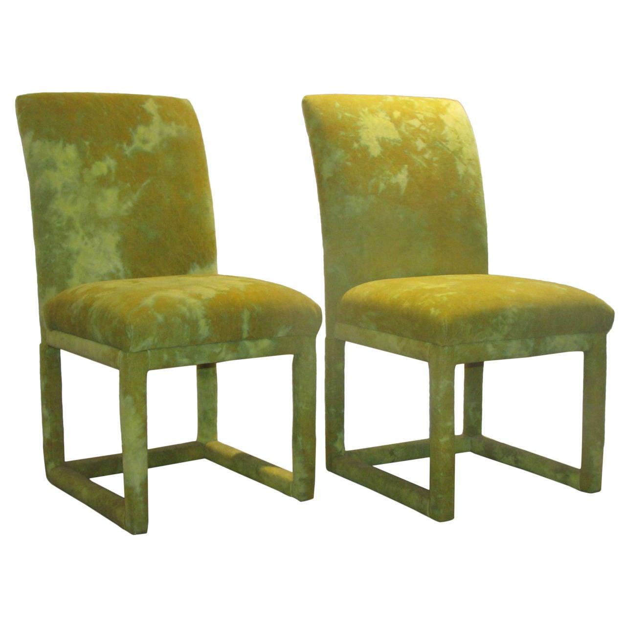 parsons chairs office chair and desk thayer coggins parson milo baughman jack lenor larsen for sale