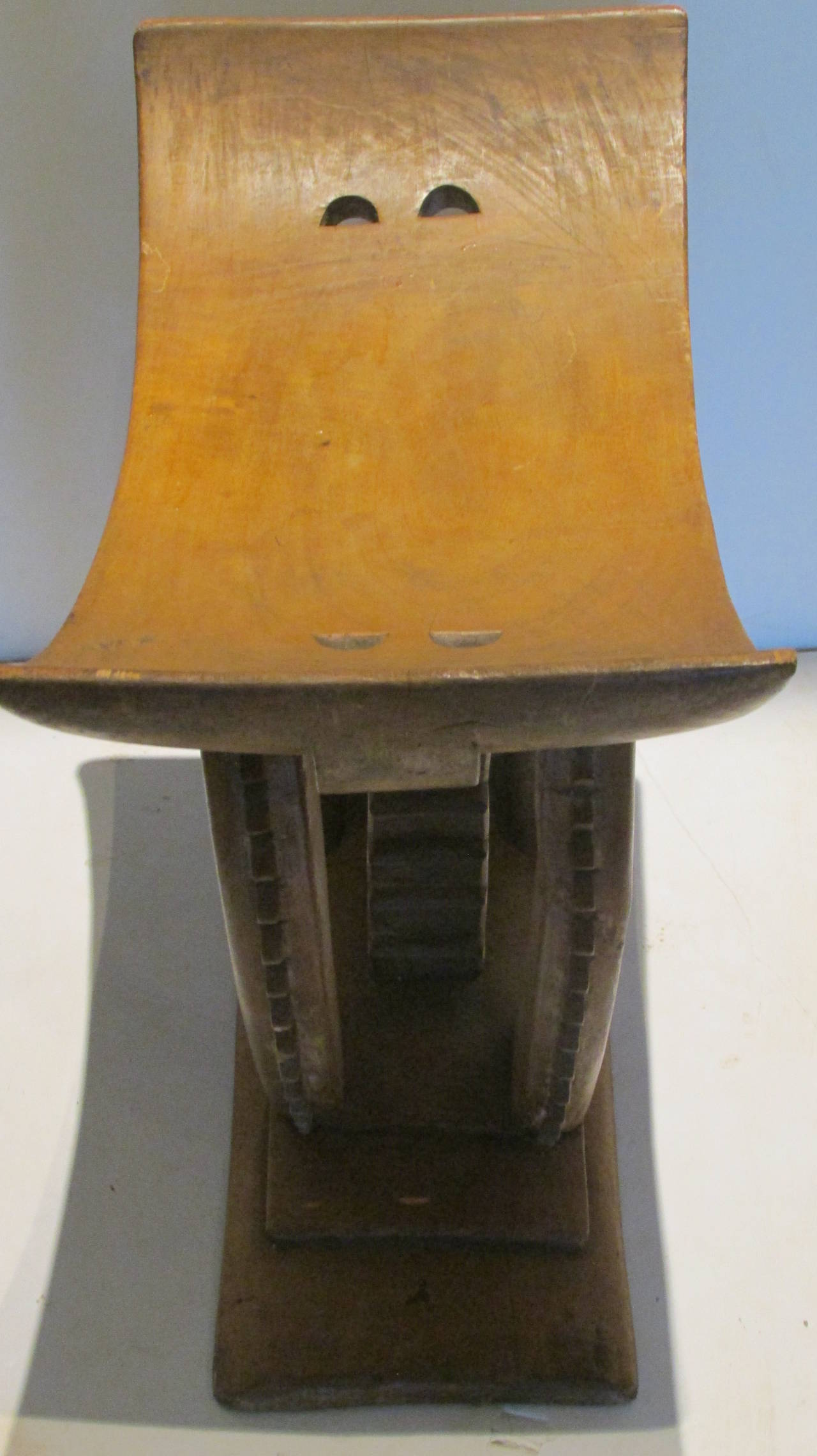 stool chair ghana plastic seat covers for kitchen chairs large old ashanti from at 1stdibs