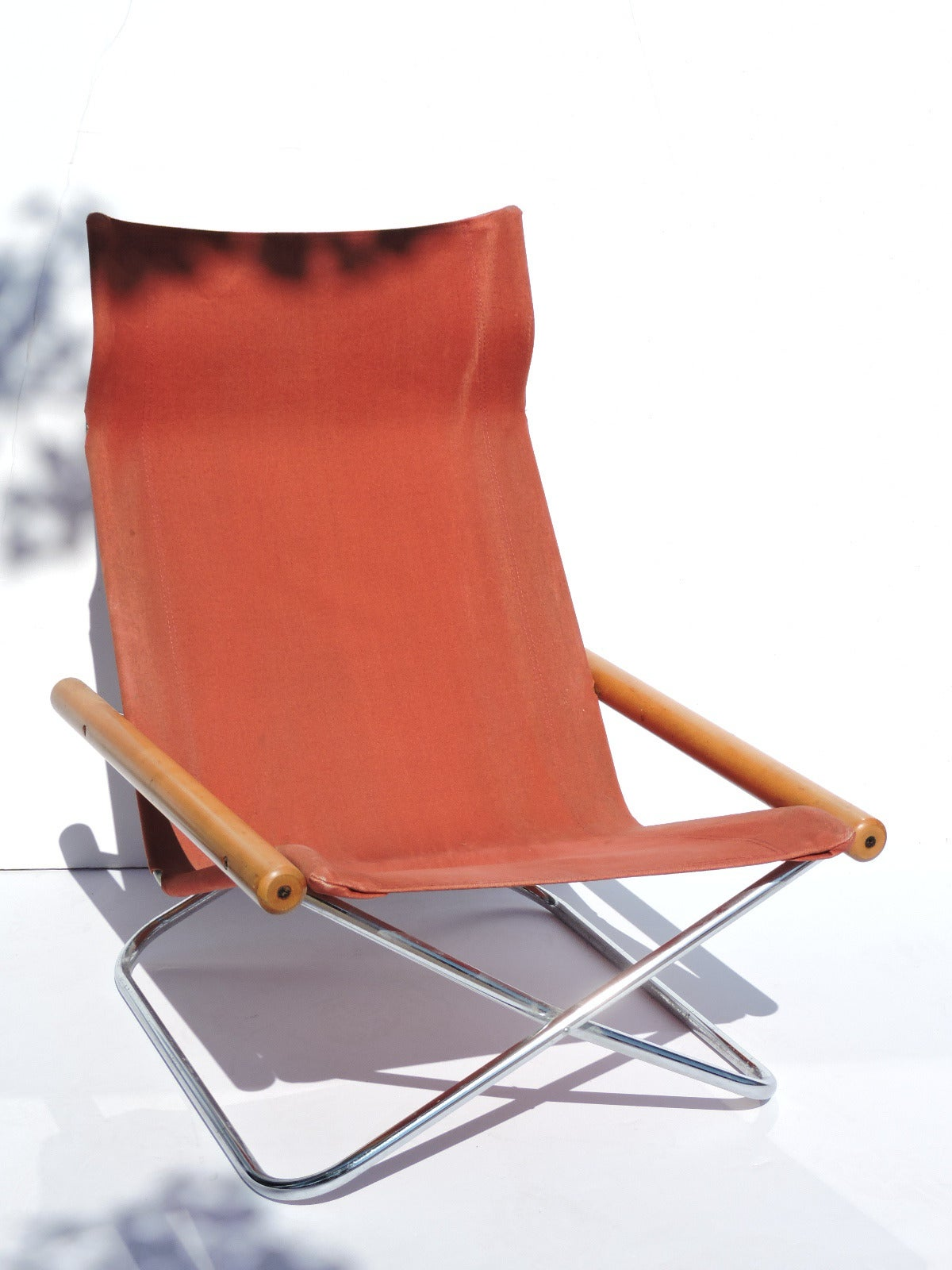 folding japanese chair bedroom hanging ny by takeshi nii japan 1958 at 1stdibs