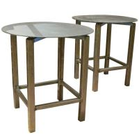 Industrial Steel Revolving Top Sculpture Work Tables at ...