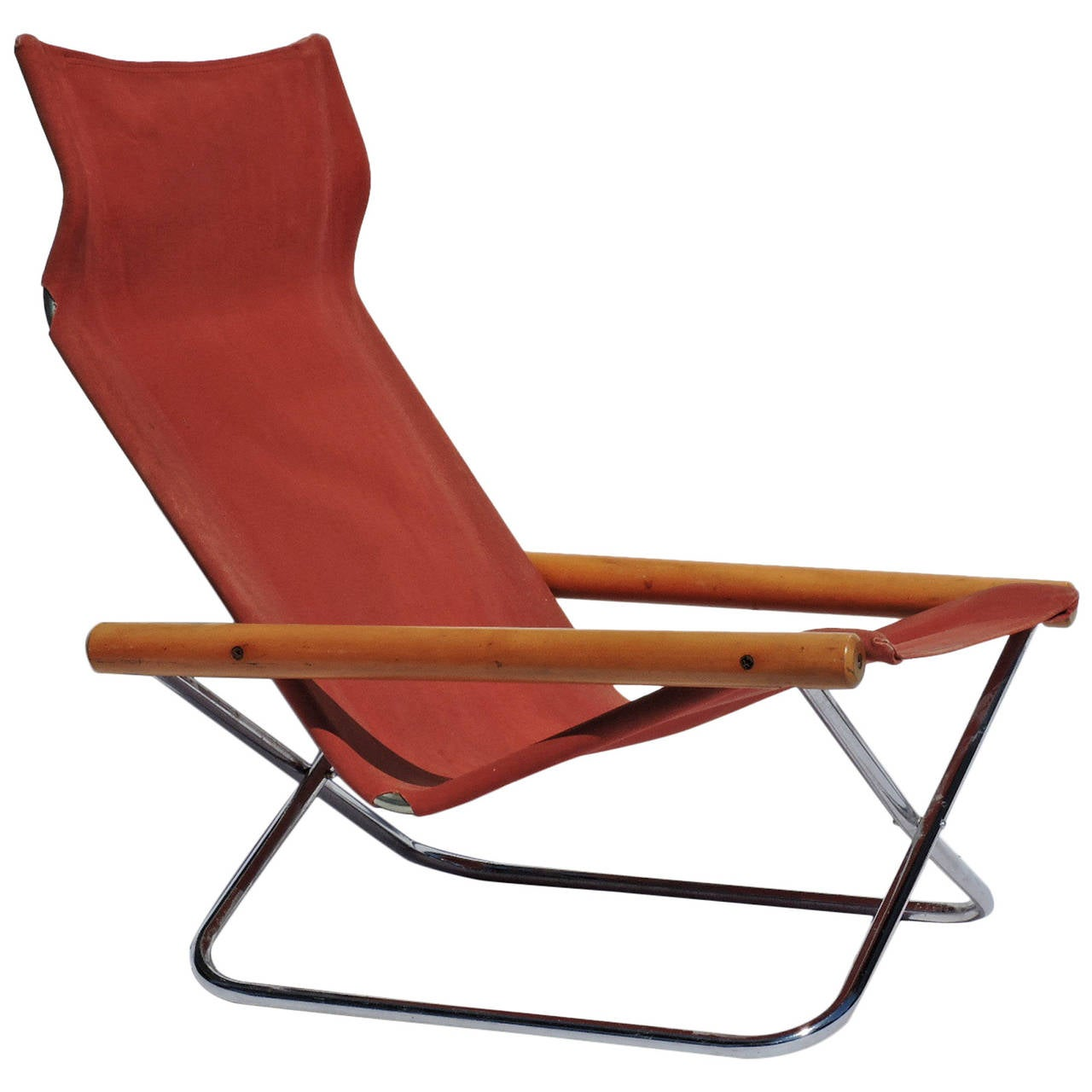 Japanese Chair Ny Folding Chair By Takeshi Nii Japan 1958 At 1stdibs