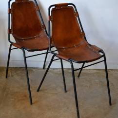 Leather Armchair Metal Frame Office Chairs Near Me Charlotte Perriand Quotles Arcs Quot And Side