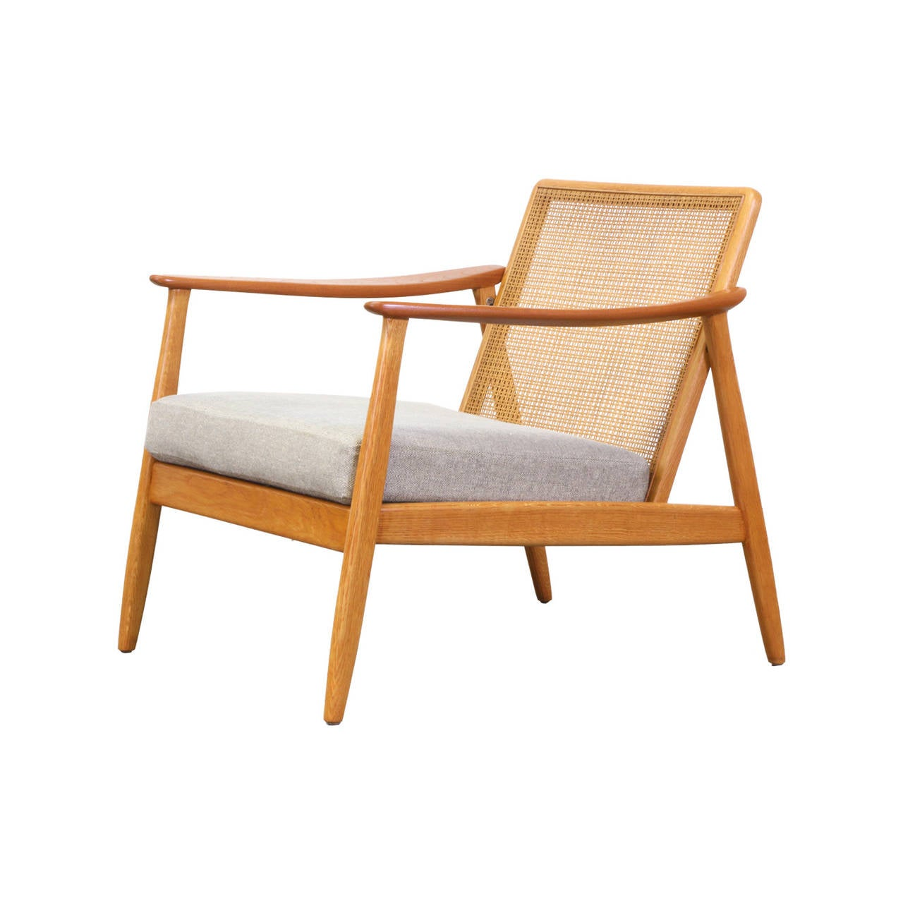 cane easy chair desk discount folke olhsson lounge with backrest for dux at