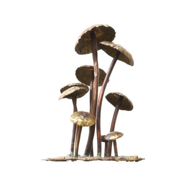 Vintage Metal Mushroom Sculpture 1stdibs