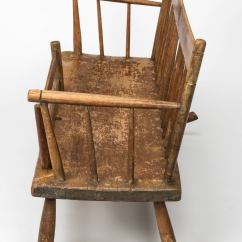 Early American Chair Styles Best Chairs For Posture Mammy 39s Rocker Bench Circa 1830s At 1stdibs