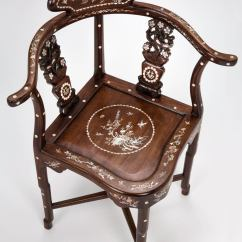 A Chair For My Mother Ikea Casual Chairs Four Rosewood Of Pearl Inlay Corner At 1stdibs