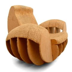 Frank Gehry Cardboard Chairs Print Accent Chair Rocker Easy Edges Attributed To O For Sale At 1stdibs