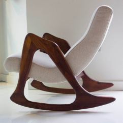 Adrian Pearsall Rocking Chair Ohio State Chairs For Craft Associates At 1stdibs