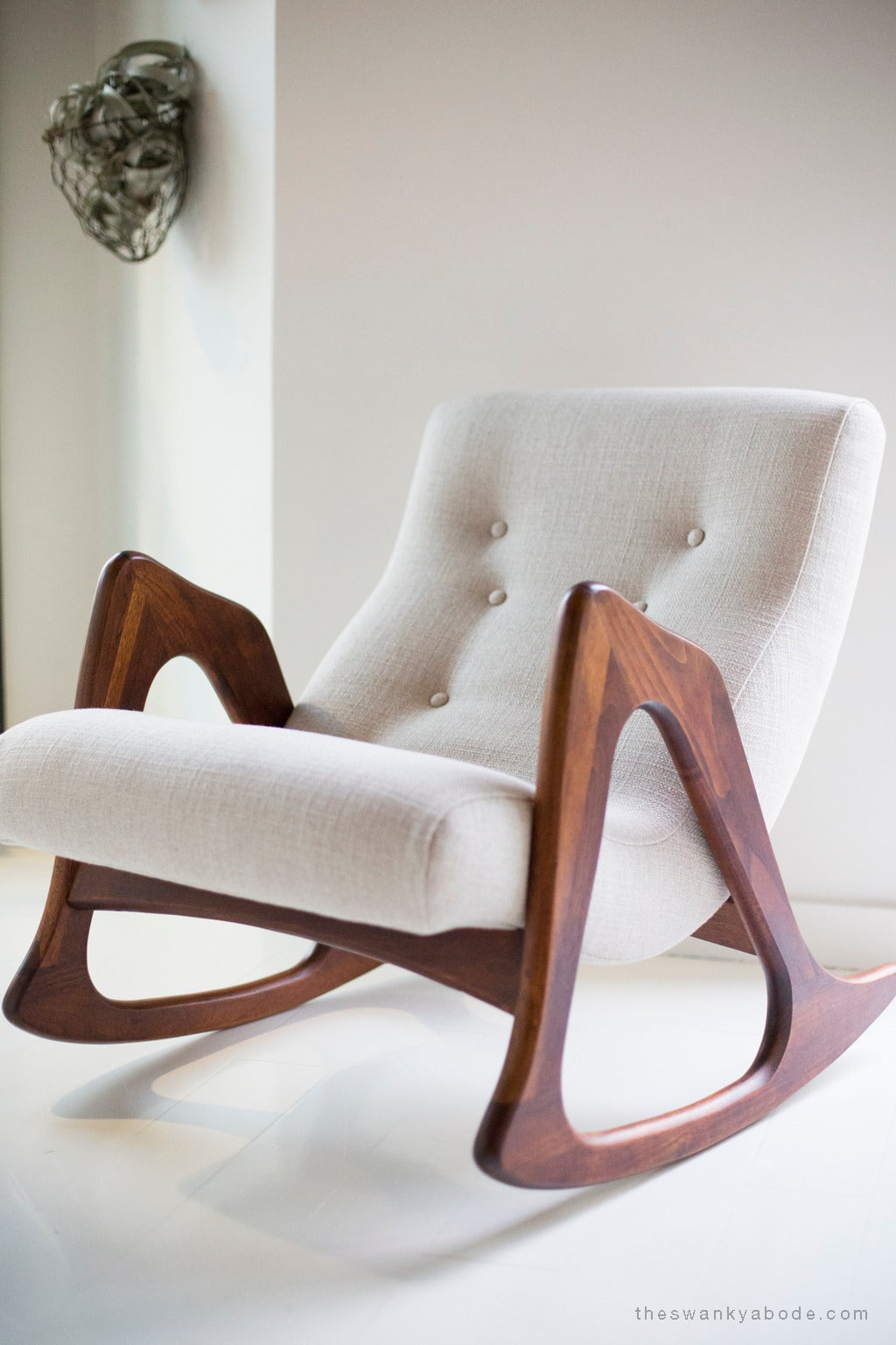 adrian pearsall rocking chair game chairs with speakers for craft associates at 1stdibs