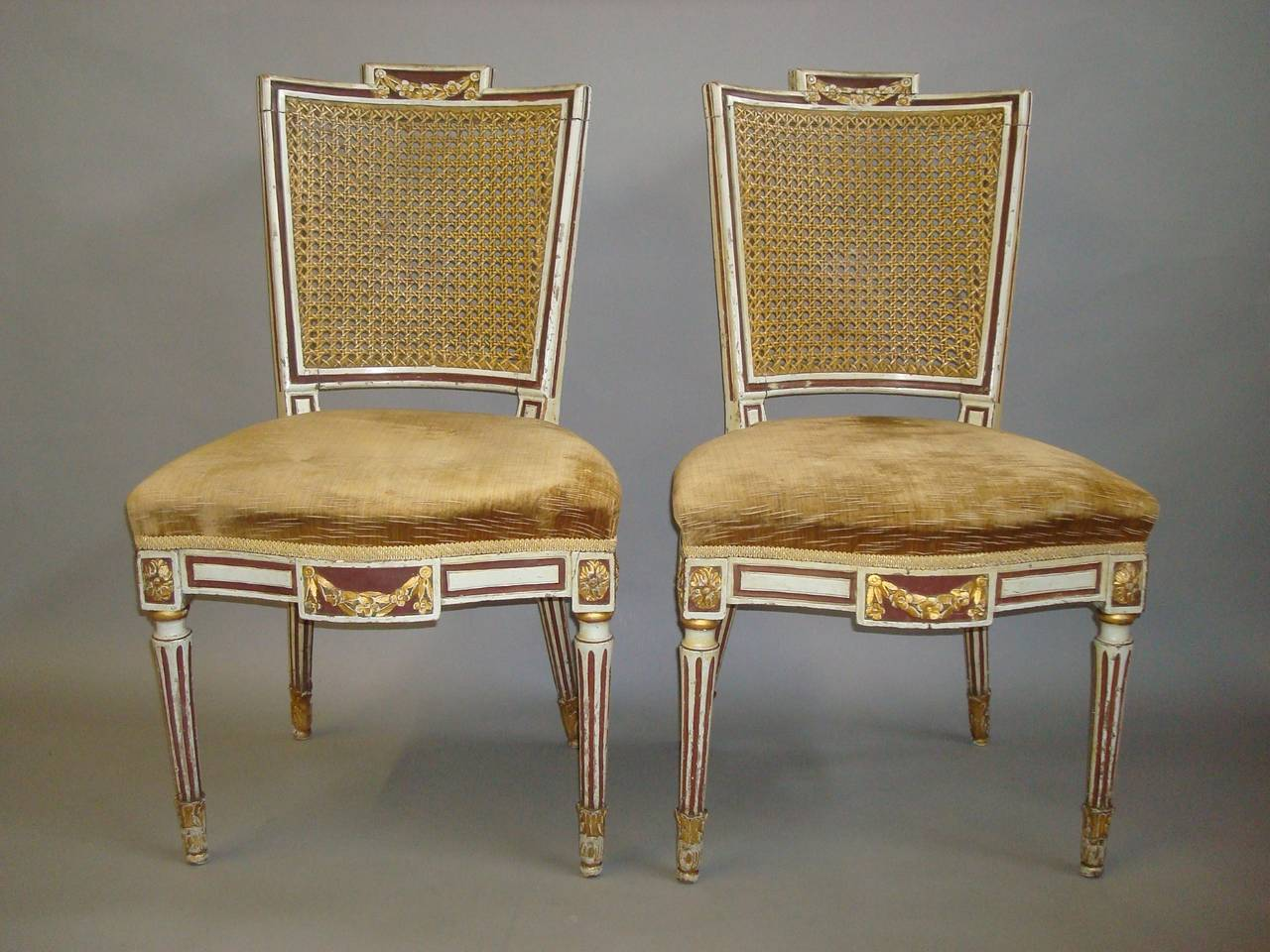 Italian Dining Chairs 19th Century Italian Set Of Twelve Dining Chairs In The