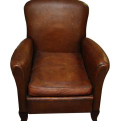 Small Leather Club Chairs Espresso Dining Chair 1940s French At 1stdibs