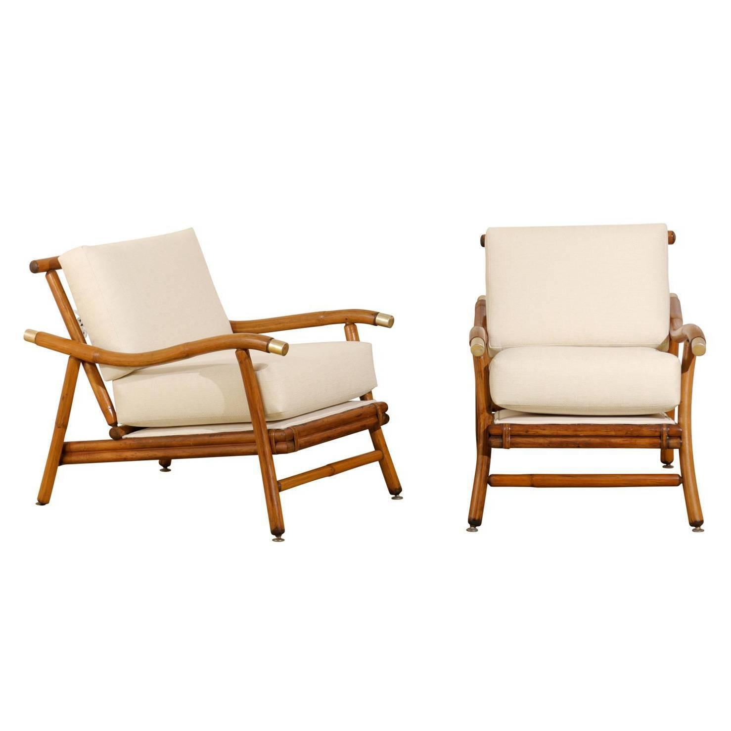 ficks reed chair pride mobility lift hand control remote restored pair of campaign lounge chairs by john wisner for
