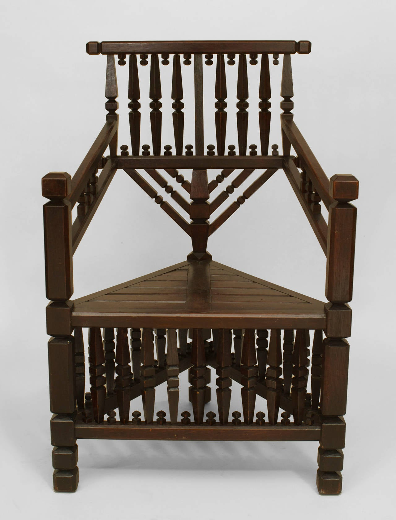 arts and crafts chairs the chair company large late 19th c movement geometric