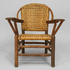 1930 Cane Back Sofa Set Covers Nairobi Pair Of 20th C. American Old Hickory Co. Woven Armchairs ...