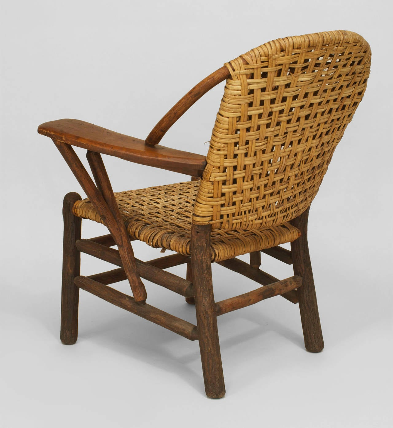 hickory chairs for sale eams lounge chair pair of 20th c american old co woven armchairs