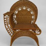 19th Century American Wicker Photographer S Chair By Heywood