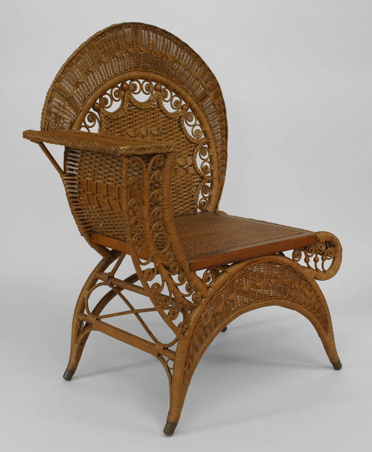 wicker chair for sale gordon tufted 19th century american photographer 39s by