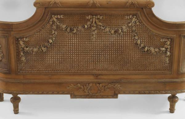Turn Of Century French Louis Xvi Style Carved Walnut