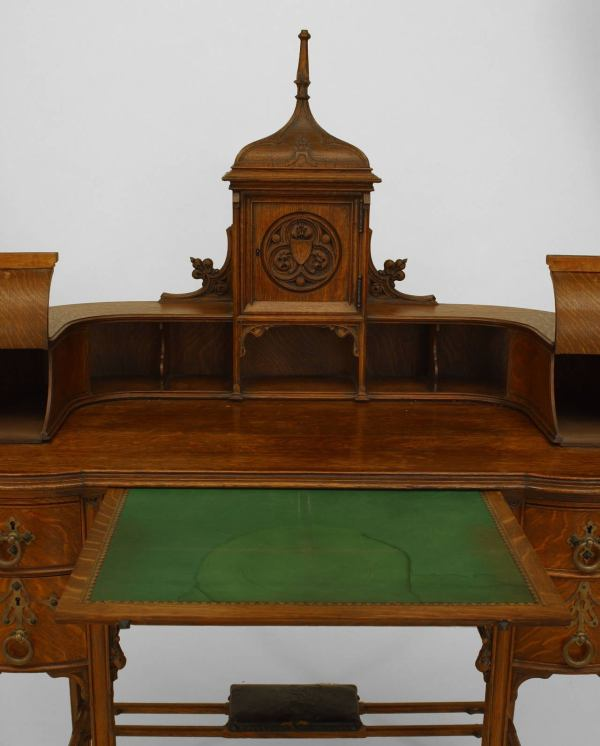 American Gothic Revival Furniture Styles Late 19th Century