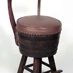 Hickory Chairs For Sale Chair Cover Hire Merseyside Pair Of 20th Century Rustic Old Oak Barrel Design