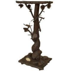 Hickory Chair Louis Xvi Hammock And Stand 20th C. Black Forest Style Carved Bear End Table For Sale At 1stdibs