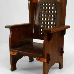 The Chair Company Chiavari Covers For Sale Late 19th Century American Mission Wing By Dexter