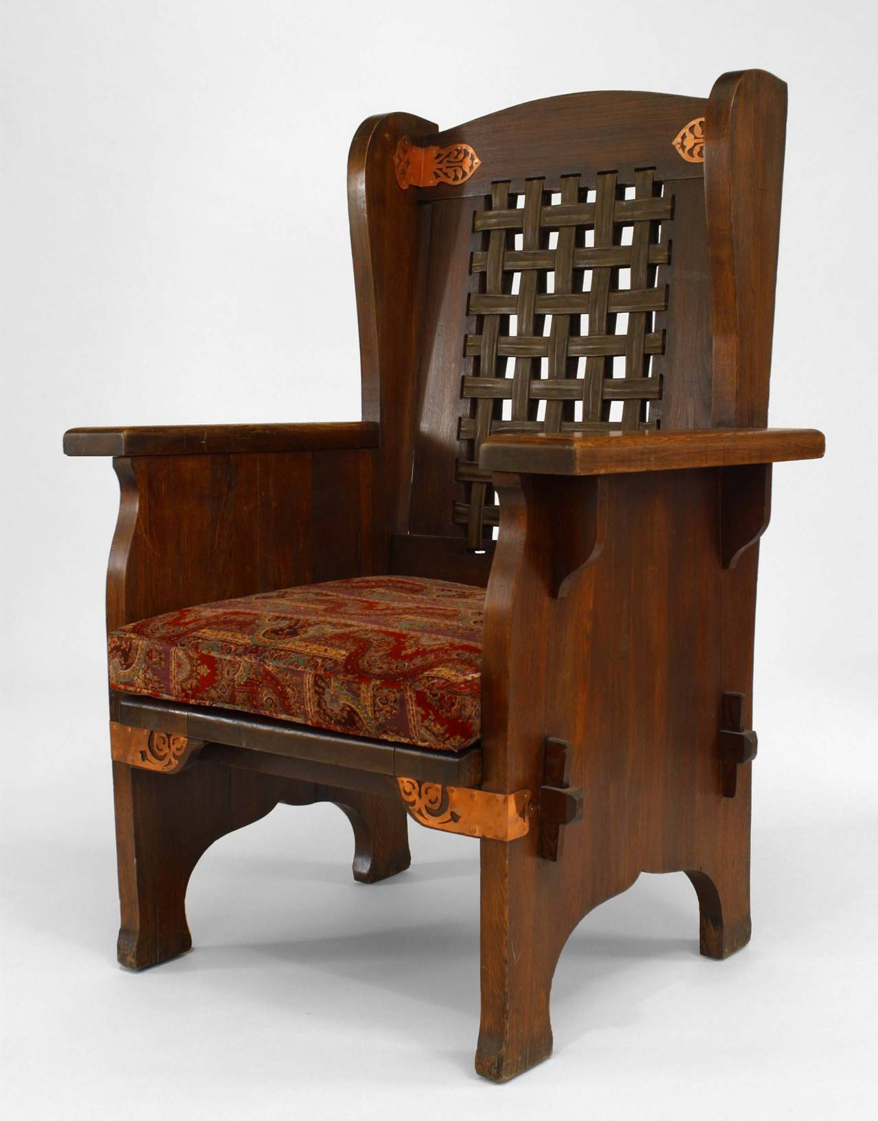 mission chairs for sale garage rolling late 19th century american wing chair by dexter