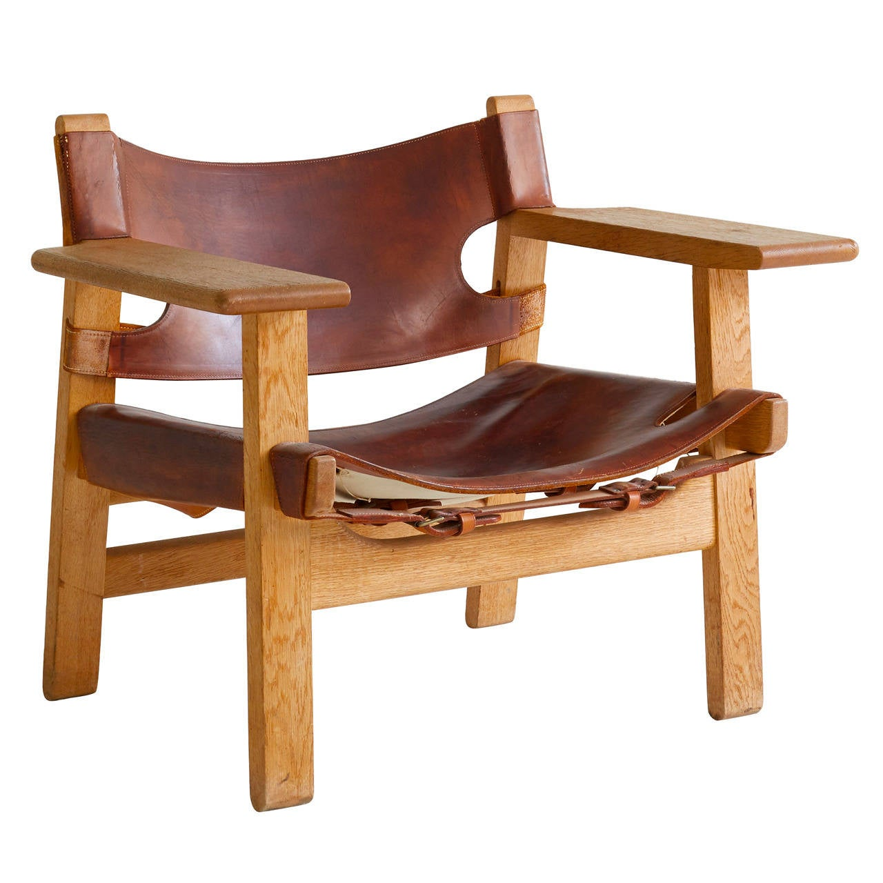 swivel chair in spanish broda cost borge mogensen at 1stdibs for sale