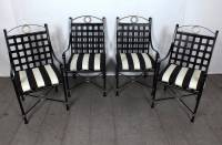 Vintage 1970s Seven-Piece Patio Dining Set Continental ...