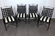 Vintage 1970s Seven-piece Patio Dining Set Continental