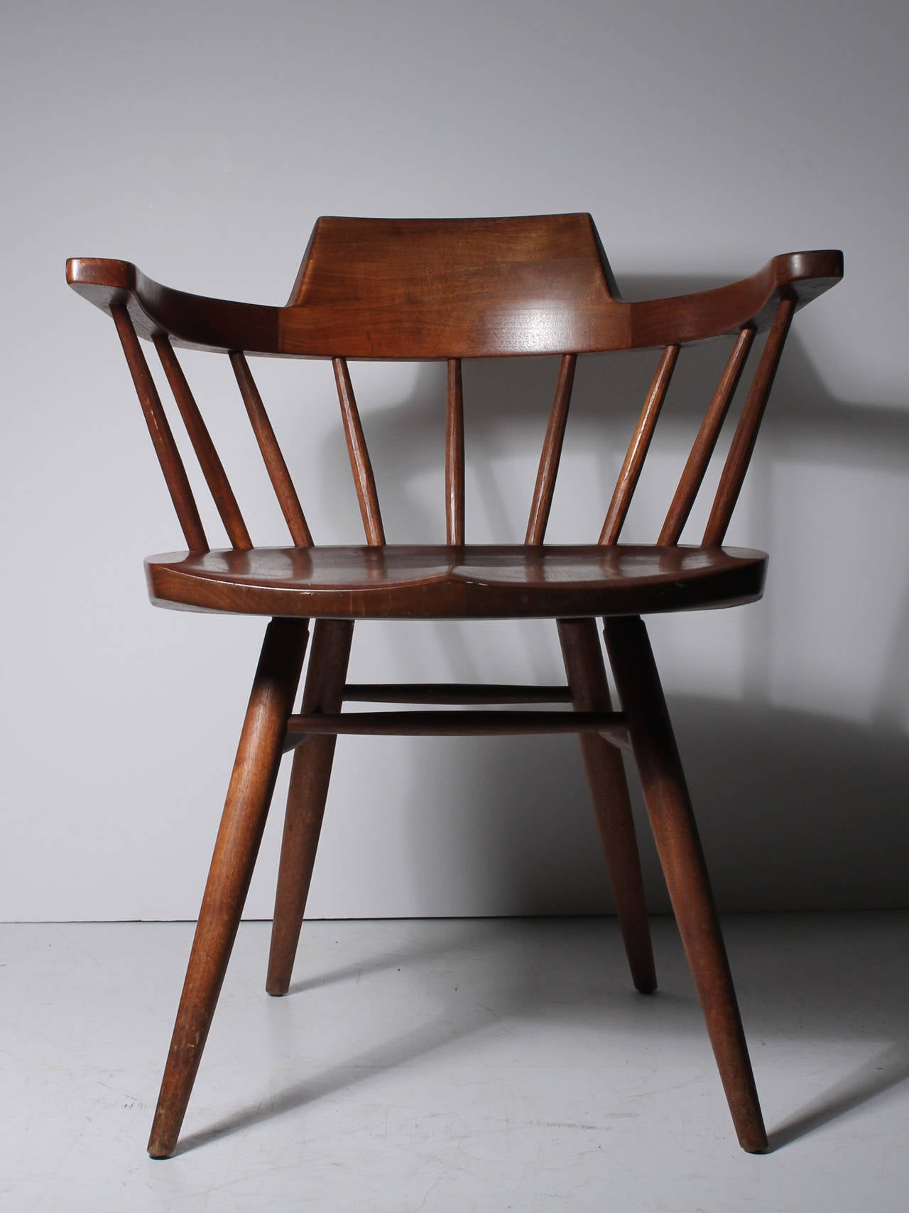 captains chair kneeling posture benefits pair of studio nakashima chairs 4 available for