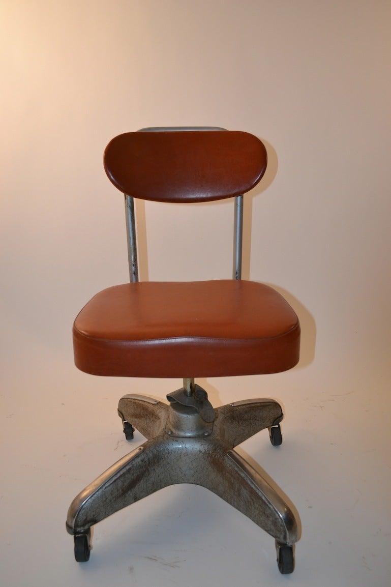Industrial Swivel Desk Chair at 1stdibs