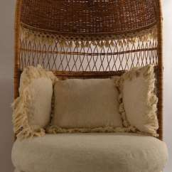 Modern Lounge Chair And Ottoman Set Design Book Pdf Hooded Wicker At 1stdibs