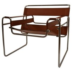 Wassily Chair Brown Leather Revolving Images And Chrome At 1stdibs For Sale