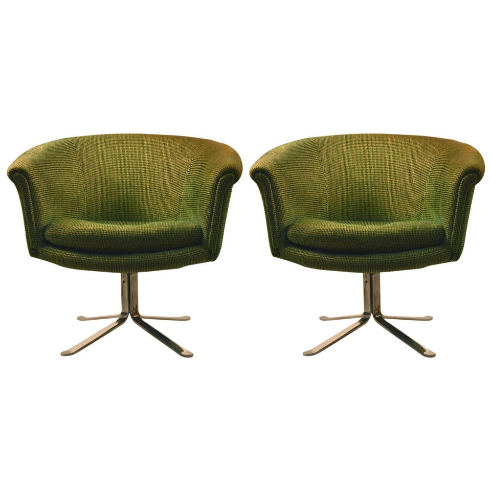 Swivel Tub Chair Pair Of Swivel Tub Chairs