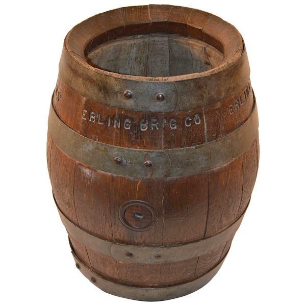 Ebling Brewing . Brooklyn York Oak Beer Barrel