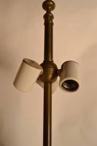 Damon Giffard for Hansen Lighting Company Copper Table ...