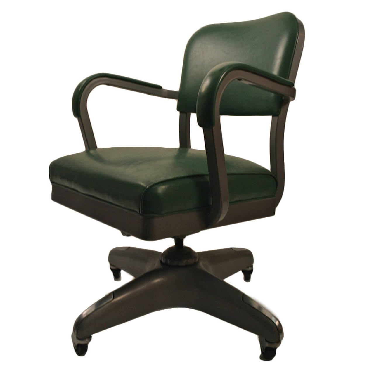 Classic Swivel Tilt Industrial Office Chair at 1stdibs