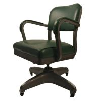 Classic Swivel Tilt Industrial Office Chair at 1stdibs