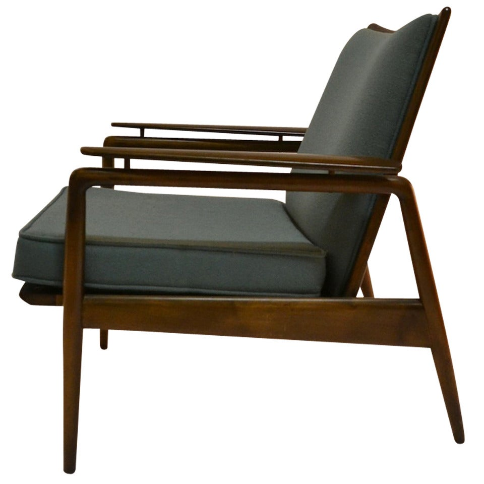 Selig Chair Danish Modern Lounge Chair By Selig